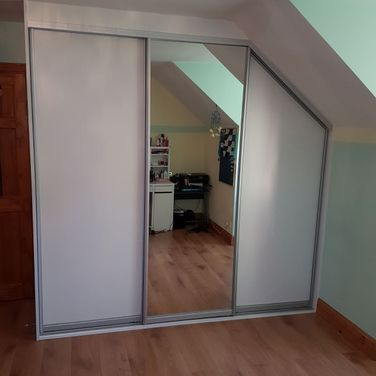 Attic and Sloped Ceiling Sliding Doors